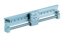 Magnetically Coupled Rodless Cylinder/Low Profile Guide CY1F