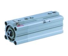 Compact Cylinder with Air Cushion and Lock RLQ/RDLQ